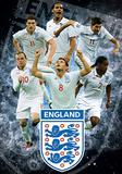 England F.A Stars 3-D Lenticular Sports Poster Print - Reprodüksiyon
