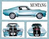 Ford Mustang (Fabulous) Art Poster Print Prints