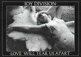 Joy Division (Love Will Tear Us Apart) Music Poster Print Kunstdrucke