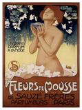 Leopoldo Metlicovitz (Fleurs de Mousse) Art Poster Print Poster