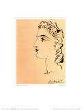 Profil de Femme Poster von Pablo Picasso