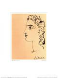 Profil de Femme Posters by Pablo Picasso
