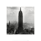 New York Collection Empire State Building Posters