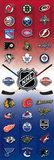 NHL Logos Sports Door Poster Print Posters