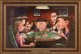 Dogs Playing Poker Print