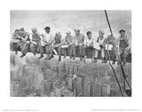 John C Ebbets Lunch Atop A Skyscraper Photo Art Print Poster Masterprint