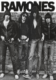 Ramones (Group B&W) Music Poster Print Posters