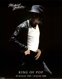 Michael Jackson (In Memoriam) Music Poster Posters