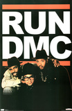 Run DMC Group Music Poster Print Prints