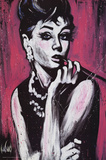 David Garibaldi (Audrey Hepburn, Fabulous) Art Poster Print Photo