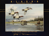 F.W. Thomas (Duck Stamp, Alaska, 1992) Art Poster Print Prints