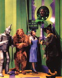 The Wizard of Oz Movie (Group in Oz) Glossy Photo Photograph Print Photo