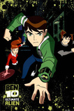 Ben 10 Ultimate Alien TV Poster Print Julisteet