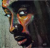 Tupac Plakater af David Garibaldi