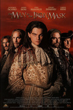 The Man in the Iron Mask Movie Leonardo Dicaprio Jeremy Irons John Malkovich Original Poster Prints