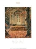 The Music Pavilion Prints by Henri Le Sidaner