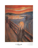 The Scream Affiches par Edvard Munch