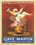 Cappiello (Cafe Martin) Art Print Poster Posters