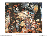 Homage to the Past 100 Famous Subjects in Art Poster Print Pôsteres