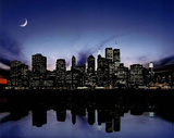 New York City Skyline Art Print Poster Posters