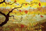 Äppelträd med röda frukter, ca 1902 Posters av Paul Ranson
