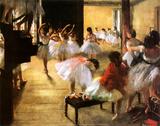 Ballet Rehearsal Posters af Edgar Degas