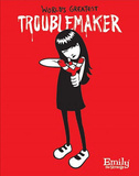 Emily the Strange (World's Greatest Trouble Maker) Art Poster Print Photo