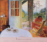 Pierre Bonnard (Diningroom in the Country) Art Poster Print Prints