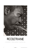 John Coltrane London Features Archive Poster
