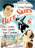 Blue Skies Musical Movie Poster Prints