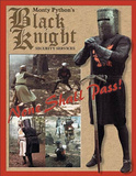 Monty Python and the Holy Grail Movie Black Knight Security None Shall Pass Tin Sign
