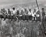 workers empire state New York classic POSTER print Posters