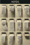 Words On Toilet Paper, Motivational Art Poster Print Affischer