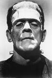 Frankenstein Movie (Boris Karloff, Close-Up) Poster Print Poster