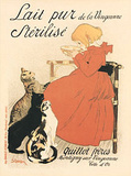Theophile Steinlen (Lait Pur Sterilise) Art Poster Print Posters