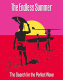 The Endless Summer Movie Holding Surfboard Poster Print Posters