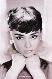 Audrey Hepburn (Lips) Movie Poster Print Photo