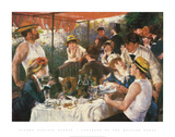 The Luncheon of the Boating Party, c.1881 Poster af Pierre-Auguste Renoir