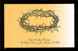 Jesus Christ Crown of Thorns Names Text Art Print Poster Plakater