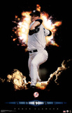 New York Yankees Roger Clemens The Rocket Sports Poster Print Posters