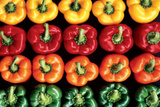 Mixed Peppers (Bell Peppers) Photo Print Poster Photo
