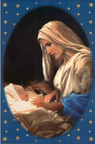 Madonna and Child (Baby Jesus) Art Poster Print Photo