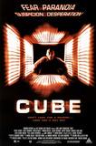 Cube Movie Nicole DeBoer Original Poster Print Posters