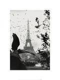 Paris (Eiffel Tower, Birds) Prints