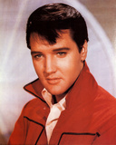 Elvis Presley Red Jacket Photo