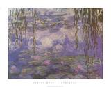 Les nymphéas Affiches par Claude Monet