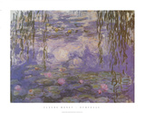 Nympheas Láminas por Claude Monet