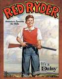 Daisy Red Ryder America's Favorite Air Rifle Tin Sign