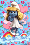 The Smurfs Movie Smurfette Smurfalicious Poster Print Prints