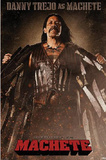 Machete Movie Danny Trejo as Machete Poster Print Prints